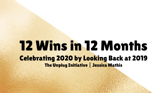 12 wins in 12 months. Celebrating 2020 by Looking back at 2019